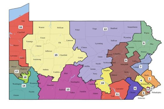 PA 7th District Map