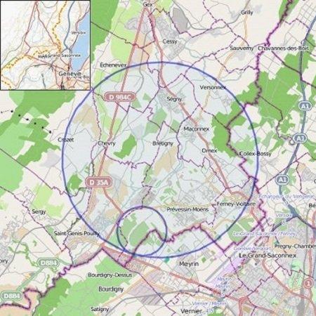 CERN-map